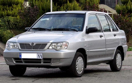 SAIPA X100, the most popular car in Iraq